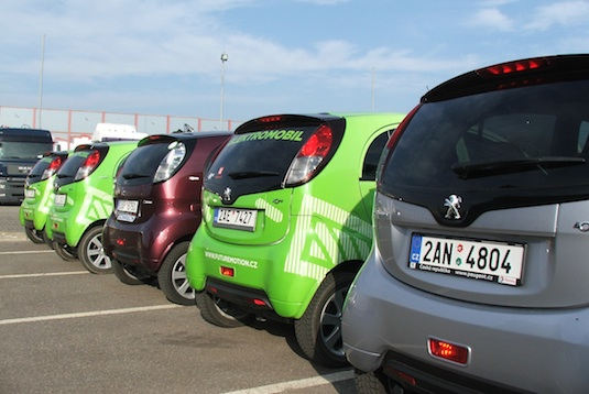 auto elektromobilita v České republice