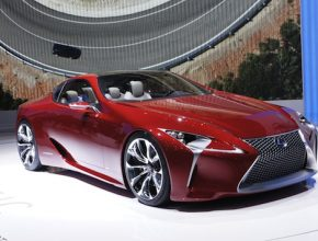 auto hybrid autosalon Ženeva 2012 Lexus LF-LC