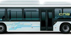 autobus Tata CNG hybrid bus