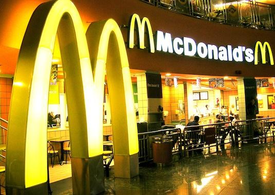 McDonald's interiér