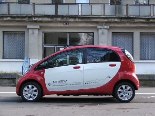 test elektromobilu Mitsubishi iMiEV