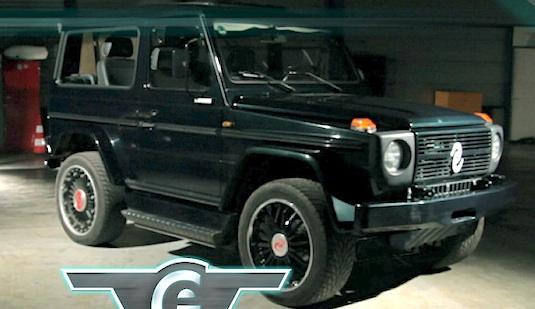 auto elektromobil Mercedes-Benz G Wagen
