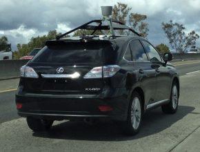 auto Google robozické auto hybrid Lexus RX 450h
