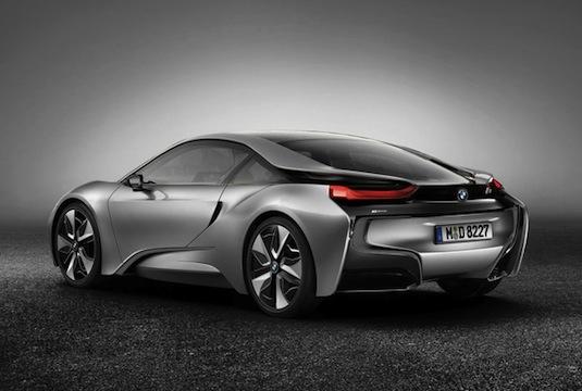 auto hybrid BMW i8 render Sonny Lim