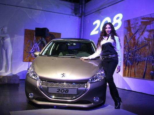 auto představení Peugeot 208