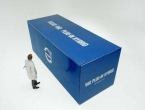 auto diesel-hybrid Volvo V60 plug-in hybrid video krabice