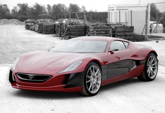 auto elektromobil Mate Rimac Automobili Concept_One