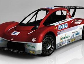 auto elektromobil závodní elektromobil Mitsubishi i MiEV Evolution