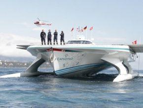 lodě PlanetSolar Monako