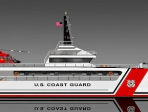 lodě - solární loď americká pobřežní hlídka