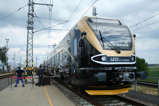 LEO Express vlak