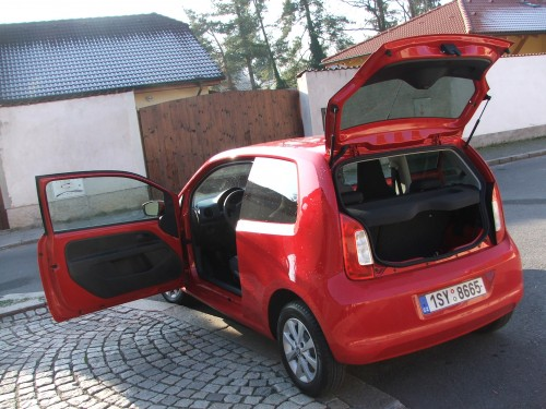 Škoda Citigo test