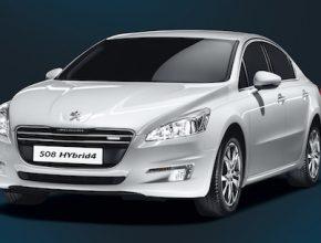 auto diesel hybrid Peugeot 508 Hybrid4