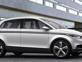 auto elektromobil Audi A2 e-tron koncept