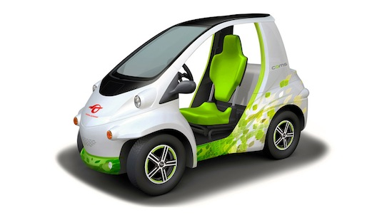 auto elektromobil Toyota Coms