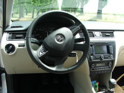 Škoda Rapid test