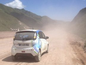 auto elektromobil elekctric odyssey Citroen C-Zero Čína elektrická odyssea cesta kolem světa v elektrickém autě