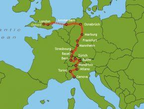 auto elektromobil WAVE 2012 mapa