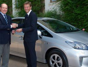 auto hybrid Monako princ Albert II. Toyota Prius plug-in hybrid