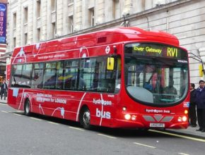 autobus vodíkový autobus HyFleet CUTE Londýn
