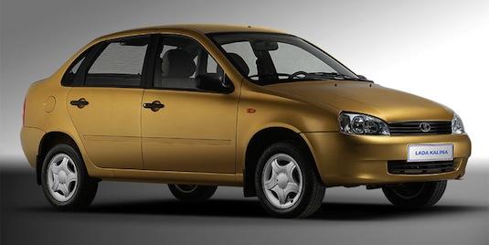 auto elektromobil Lada Kalina sedan