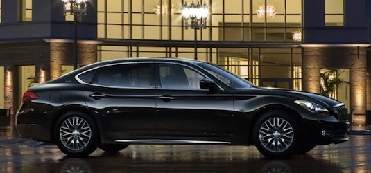 auto hybrid Mitsubishi Dignity VIP luxusní hybrid sedan