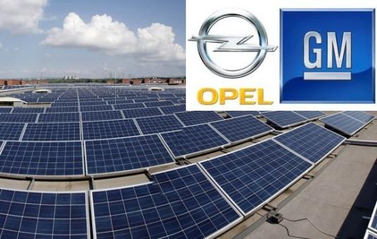 GM solární energie
