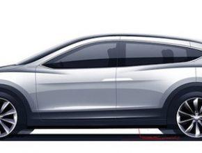 auto elektromobil Tesla Motors Model X 2013