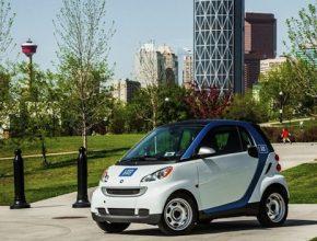 auto car2go Calgary Daimler Smart ForTwo sdílení aut