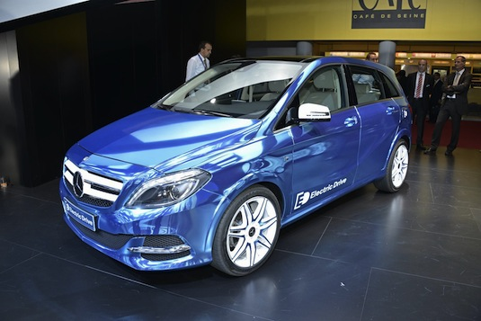 auto elektromobil Mercedes-Benz B class concept Electric Drive