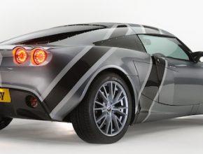 auto elektromobil Nemesis Lotus Exige elektrická přestavba