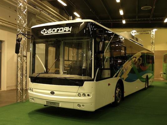 auto hybrid autobus Bogdan A705 Hybrid