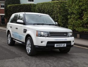 auto hybrid Land Rover Range_E