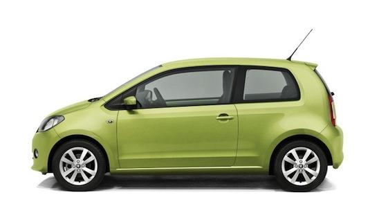 auto na plyn Škoda Citigo CNG