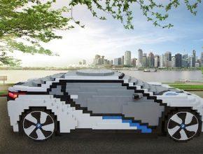 auto plug-in hybrid BMW i8 plug-in hybrid LEGO