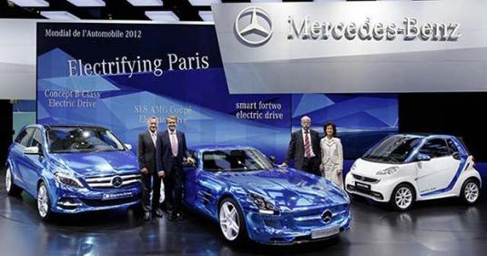 Daimler – autosalon Paříž 2012