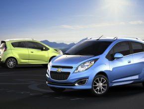 auto elektromobil Chevrolet Spark EV 2013