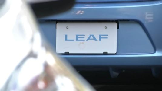 auto elektromobil Nissan Leaf 2013