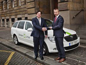 auto elektromobil Škoda Octavia Green E Line ministerstvo průmyslu a obchodu ČR