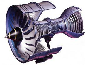 Letecká turbína Rolls-Royce Trent.