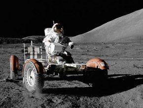 auto elektromobil NASA Apollo 17 Lunar Roving Vehicle