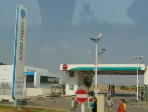 auto elektromobil čerpací stanice stanice pro výměnu baterií Better Place Izrael