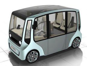 auto elektromobil Rinspeed microMAX