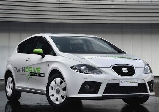 auto elektromobil Seat Leon TwinDrive Ecomotive