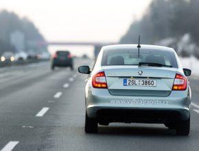 auto Škoda Rapid dojezd na jednu nádrž spotřeba