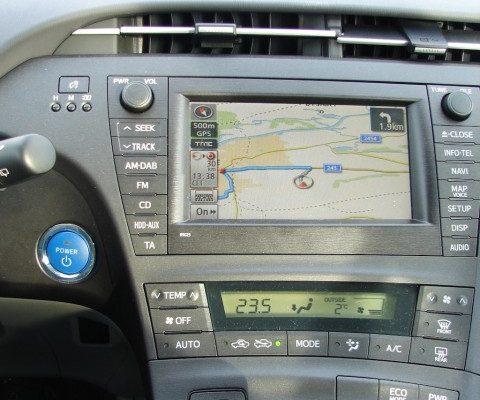 test Toyota Prius plug-in hybrid