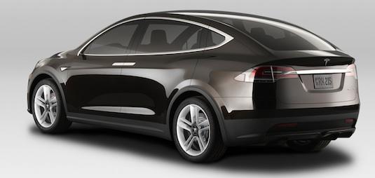 auto elektromobil elektrické auto Tesla Model X SUV