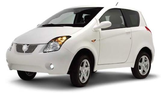 auto elektromobil INGO italské elektrické auto
