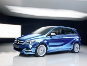 auto elektromobil Mercedes-Benz třídy B E-Cell ED electric drive elektrické auto