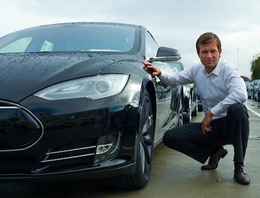 auto elektromobil Otto Fabri Tesla Model S